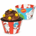 Dr. Suess Reversible Cupcake Wrappers 12 Pack