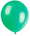 "Emerald Green 12"" Latex Balloons 10 Count"