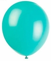 "Seafoam Aqua 12"" Latex Balloons 10 Count"