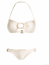 Aque de coca Swimwear Bandeau Top & Scoop Bottom
