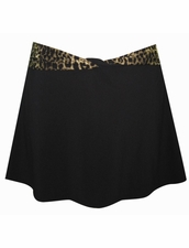 Gottex Swimwear Tiger Mini Skirt