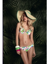 Huit Swimwear Cabana Club Push-Up underwire Cup Two Piece Swimsuit