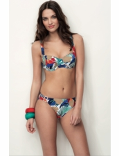 Huit Swimwear Sweet Bamboo Full -Cup Underwire Two Piece Bikini
