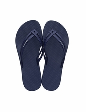 Ipanema Hashtag Flip Flop in Navy