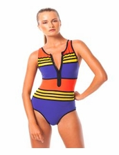 Karla Colletto Outlines Zipper One Piece