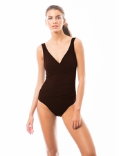 Karla Colletto  Smart Suit Underwire in Wine