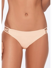 L* Space Swimwear Low Down Bottom in Creamsicle