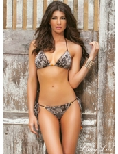 Lady Lux Swimwear Desert Rose Bikini