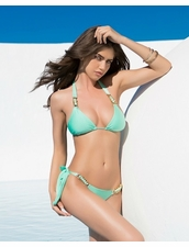 Lady Lux Swimwear Hard To Get Bikini in Mint