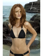 Lenny Niemeyer Reef Halter Top &  Adjustable Bottom in Black