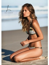 Lenny Niemeyer Tribe Leather Two Piece Bikini