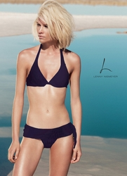 Lenny Niemeyer Underwire Two Piece Swimsuit in Amethys  **2014 Collection **