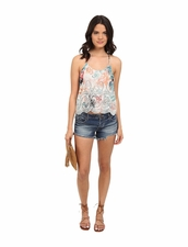 Lovers + Friends Baciami Top in Paradise Floral
