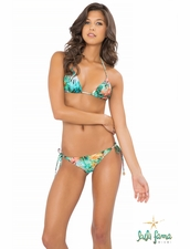 Luli Fama Miami Nice Crystalized Triangle Bikini