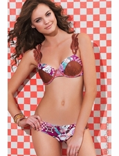 Maaji Swimwear Lynn's Paradise Two- Piece Swimsuit