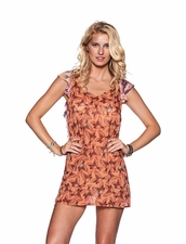 Maaji Sweet Songbird Animal print short dress
