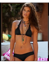 Martha Rey Swimwear Signature Solids in Black