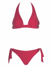 Maryan Mehlhorn Swimwear Origami Halter Top & Tie Side Bottom