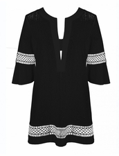 Maryan Melhorn Masterpiece Tunic in Black