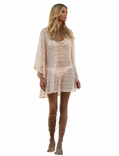 Melissa Odabash Madison in Pearl Knit
