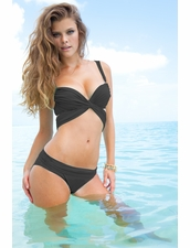 Sauvage Swimwear Mon Cheri Bikini in Black