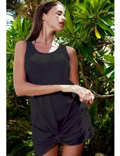 Naila Koral cover-Up in Black