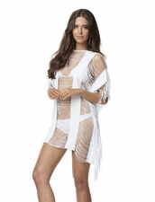 Pily Q Monique Cover-Up in White