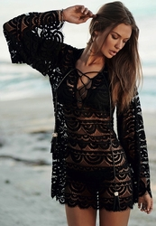 Pily Q Noah Lace Tunic Cover-up  ** 2015 Collection **