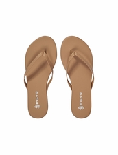 Pily Q Suede Tan Sandals