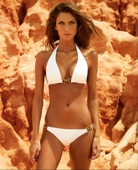 Valimare Swimwear Porto Cervo White Two Piece Swimsuit   **2014 Collection **