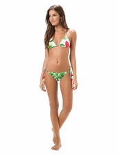 Salinas Swimwear Marline Triangle Top & Tie-Side Bottom