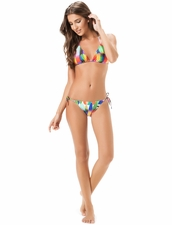 Salinas Swimwear Wave Two-Piece Triangle Top & Tie-Side Bottom