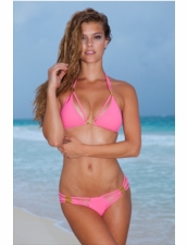 Sauvage Swimwear Diva Bikini in Light Coral