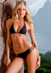 Sauvage Swimwear Spider Solid Bikini Black ** 2015 Collection **