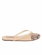 Tkees French Tips in Rattle Bone Sandals