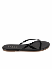 Tkees Glosses in Licorice Sandals