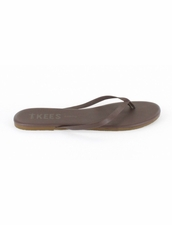 Tkees Liners in Stone Sandals