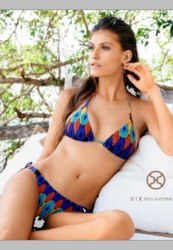 ViX Swimwear Tribal Embroidery Tri Bikini