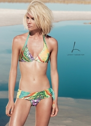 Lenny Niemeyer Underwire Two Piece Swimsuit in Atlatis  **2014 Collection **