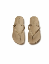 VIX Ipanema Golden Sandals