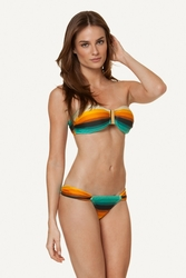 ViX Swimwear Delta Square  Bandeau Top & Brazilian Bottom Bikini **2015 Collection  **