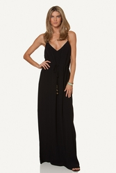 ViX Swimwear Mary Long Dress in Black ** 2015 Collection **
