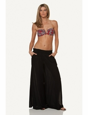 Vix Swimwear Solid Bali Pants