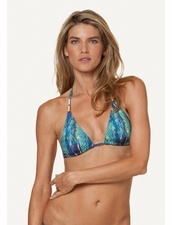 Vix Swimwear Stone Detail Triangle Top