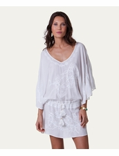 Vix Swimwear White Vintage Tunic