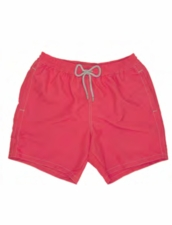 Zeybra Portofino 1962 AUB001 Solid Corallo Fluo Swim Trunks