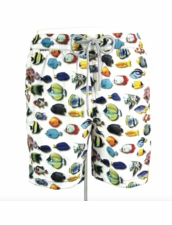 Zeybra Portofino 1962 AUB545 Fish Swim Trunks