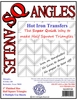 SQangles Half Square Triangle 1in Finished Size