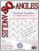SQangles Half Square Triangle 2 1/4in Finished Size
