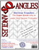 SQangles Half Square Triangle Small Size Variety Pack